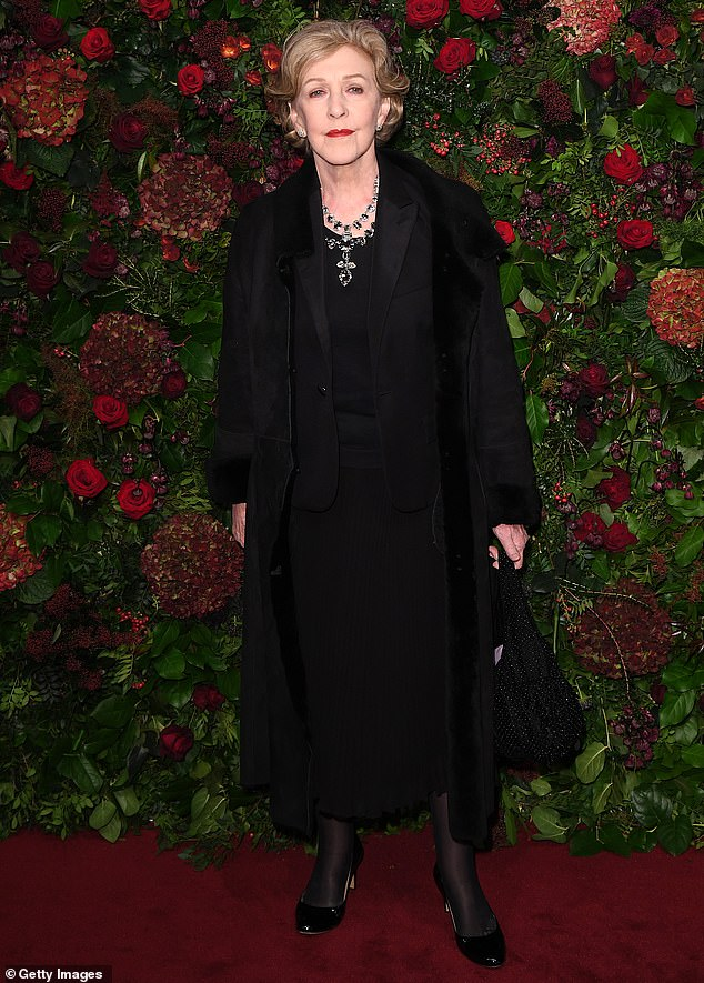 Unbelievable: Hodge, who will take on the role of Ms Pumphrey, has appeared on several shows such as Rumpole Of The Bailey, Miranda and most recently as Jeremy Thorpe's mother in A Very English Scandal (pictured in 2019)