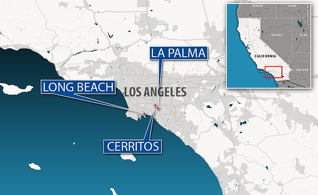 Adolfo Schoneke, 43, and 38-year-old Bianca Gonzalez - along with co-conspirators - 'operated real estate and escrow companies based in Cerritos, La Palma and Long Beach under a variety of names,' including West Coast and MCR