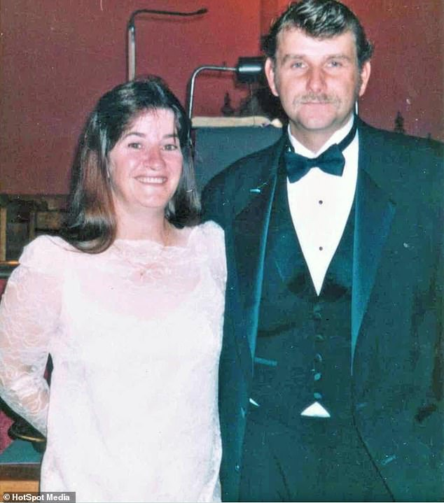 Gone: Jesse, who was diagnosed with PTSD in 2009, was honorably discharged from the Army soon after - ten years before he killed his parents Cindy and Edwin Bidlack (pictured)