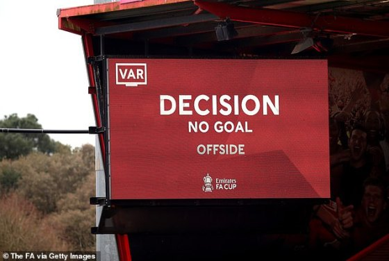 The automated version sends a signal straight to the line clock to indicate whether the player is offside or not.  While it is a semi-automated function that will first go through VAR