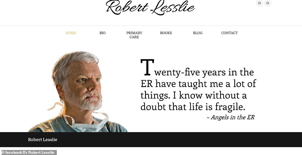 Lesslie authored several non-fiction books, including Angels in the ER