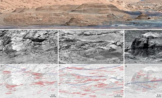 Mars shifted between long dry periods and wetter eras before completely drying up to the nearly dead world we see today about three billion years ago, study shows