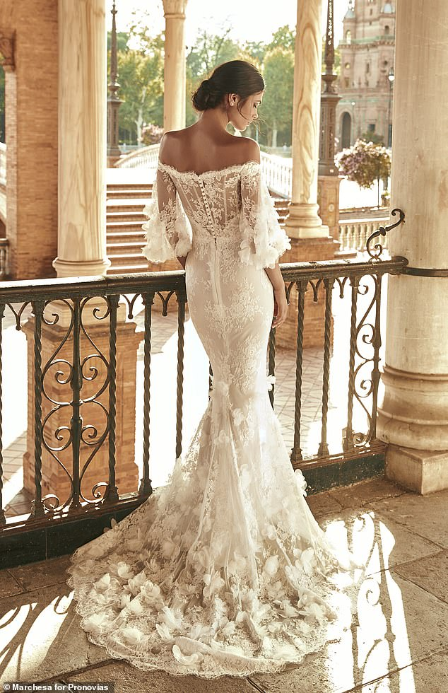 Luxury bridal brand Pronovias has partnered up with international couture house Marchesa