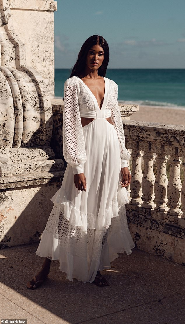 The carefully curated collection consists of dresses and swimwear for every celebratory moment, including bachelorette, wedding and honeymoon