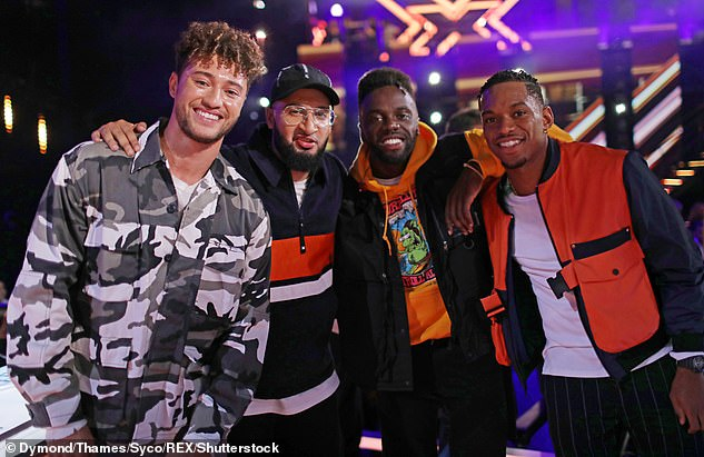 Rak-Su were dropped just two years after winning the talent show