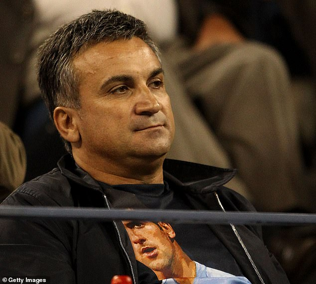 Djokovic's father Srdjan has launched an astonishing verbal attack on the Swiss tennis legend