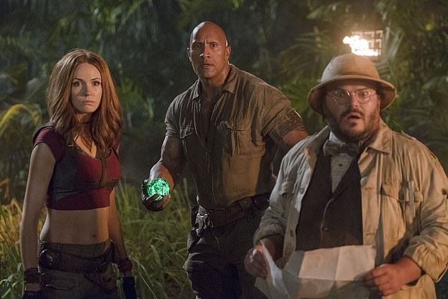 He's a Major Movie Star: In the 2017 hit Jumanji Welcome To The Jungle with Karen Gillan and Jack Black