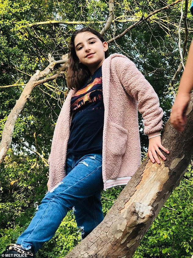 """Lily, pictured, has brown hair, is 5'02"""" tall, and of slim build. She was last seen on the 3rd April at her home in #Twickenham wearing black platform boots and black trousers"""