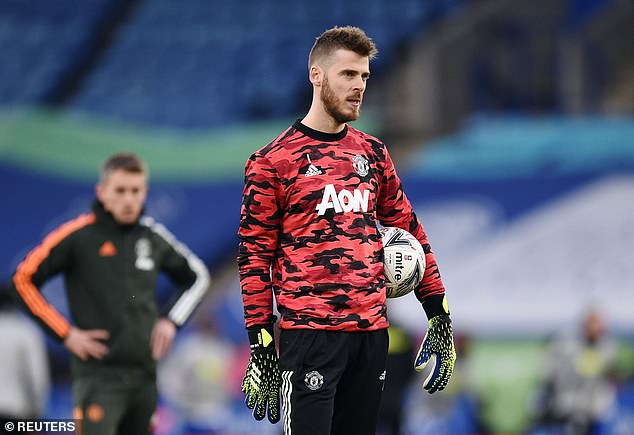 De Gea has some work to do to take his Premier League starting place back off Henderson