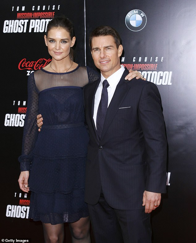 Former Flame: The actress was also married to Tom Cruise, with whom she shares a teenage daughter named Suri;  the two are seen together in 2011