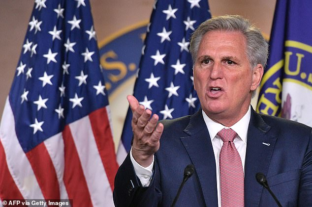 Republicans will strongly oppose and pursue every option—be it legislative or judicial—to protect the right to keep and bear arms from infringement by this Administration,' said House minority leader Kevin McCarthy