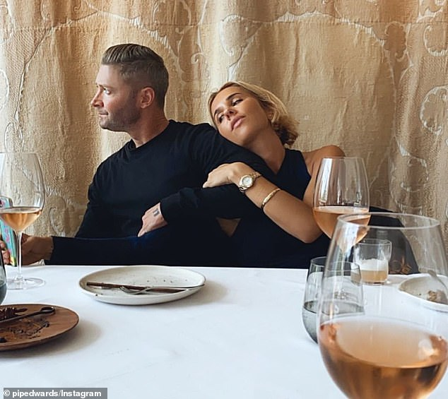 Her lips are sealed: Fashion designer Pip Edwards 'would not be drawn to the state of her relationship' during an interview with The Daily Telegraph on Friday, despite reports that she is dating the captain again. retired Australian cricketer Michael Clarke after their split in January.