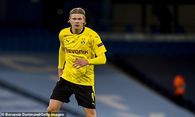 Dortmund striker Erling Haaland is one of the hottest properties in world football right now