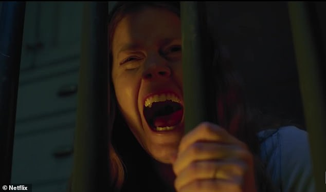 Agoraphobia:Adams portrays Anna Fox, a woman suffering from agoraphobia who never leaves her New York City home, who thinks she saw a new friend Jane Russell (Julianne Moore) get stabbed to death