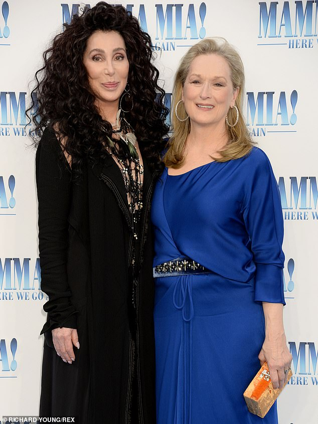 Cher wants to be in the Mamma Mia 3 movie — sharing a duet with Meryl Streep