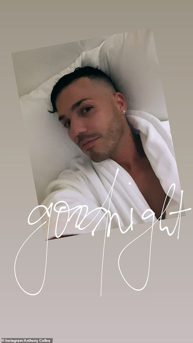 Luxury: Anthony Callea proved he holidays like music royalty this week, enjoying a break at the InterContinental Hayman Island Resort with his husband Tim Campbell