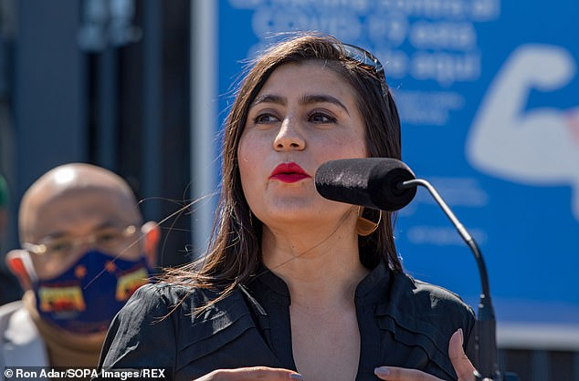 The $2.1 billion program, sponsored byNY State Senator Jessica Ramos (above) will provide $15,600 cash to around 300,000 workers who lost income to COVID-19 but were ineligible for other pandemic relief