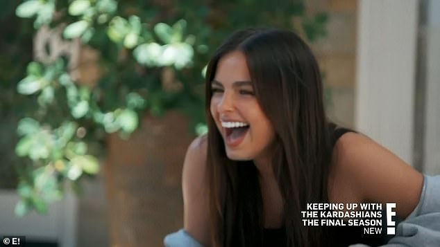Favorite person:Later, as Kourtney lunched with Addison, Khloé joked that the girl was her sister's favorite person