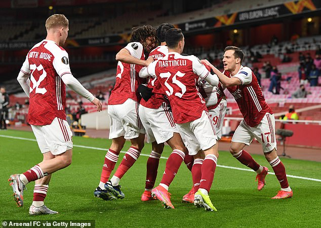 Bellerin says the Gunners did well to take the lead in their Europa League quarter-final first leg