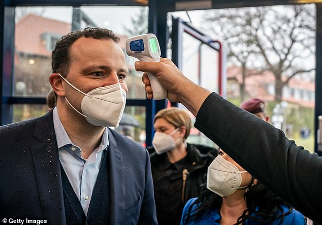 He told journalists Germany needs a lockdown to curb the spread of the virus as the current caseload threatens to overwhelm the country's healthcare system