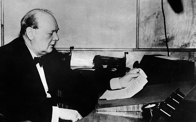 A new documentary sheds light on how giving speeches did not come naturally to wartime Prime Minister Winston Churchill. The words he uttered in June 1940 after the evacuation of British troops from the beaches of Dunkirk would have been rehearsed until they were 'pin perfect'