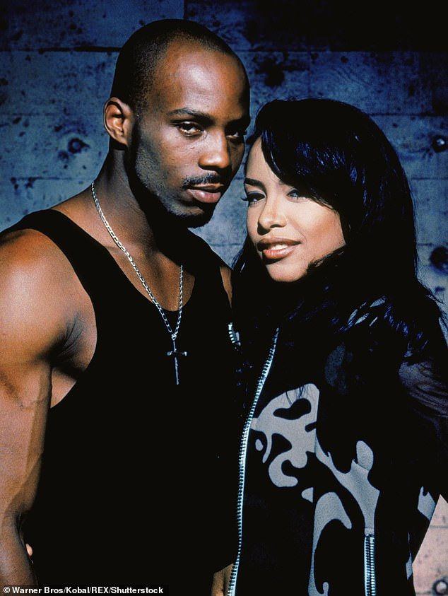Starring role: The rapper appeared alongside late singer Aaliyah (who died in 2001) in the movie Romeo Must Die a year before her death, and also duetted on the his 'Come Back in One Piece'