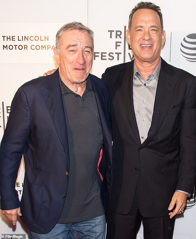 No Loss: Nor was it a major loss for De Niro, who instead shot the Oscar-nominated crime drama The Untouchables;  he saw sharing a laugh with Hanks in 2016