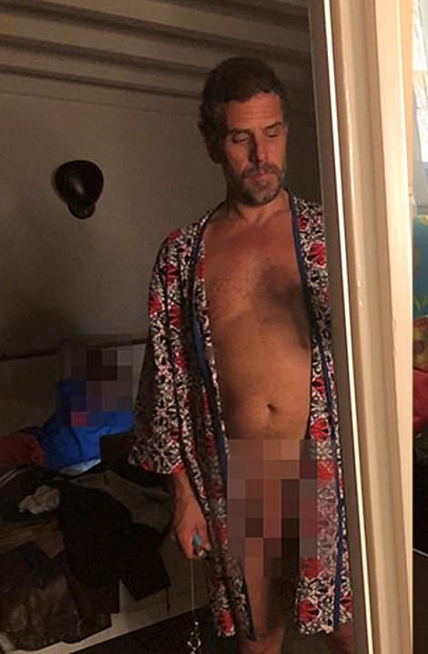 Pictures, documents, emails and texts obtained by DailyMail.com from Hunter Biden's laptop reveal nude photos of the president's son and how Hunter spent thousands of dollars on strippers and prostitutes