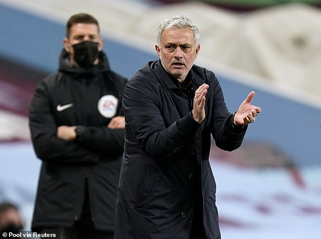 Tottenham boss Jose Mourinho is under huge pressure to deliver silverware amid a tough term