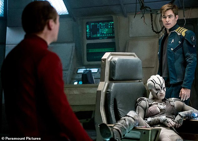 Remember when: Meanwhile, the next Star Trek movie will be released on June 9, 2023 - seven years after its commercially disappointing predecessor Star Trek Beyond (pictured)