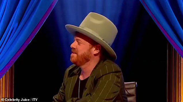 Racy: The cheeky moment came after host Keith Lemon insisted Roman and Emily 'do well together'