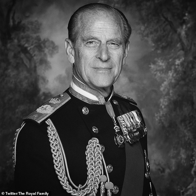 Tragic: Buckingham Palace officials are now preparing for a royal funeral at Windsor Castle, Berkshire, in line with Philip's wishes