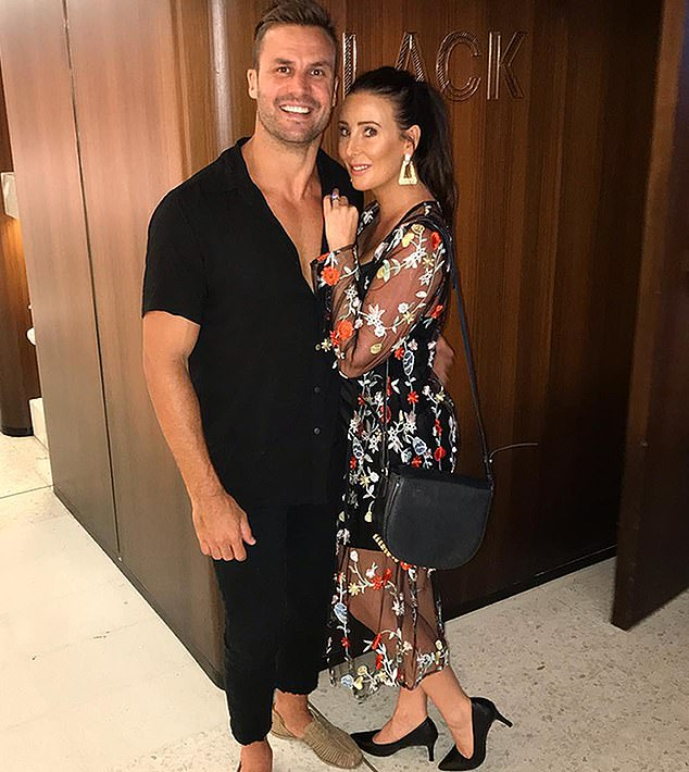 Competition time: Beau said he's opening the gyms to help give people a chance to get fit and healthy, and it will be 'another competitor' in the popular market. Pictured with wife Kara