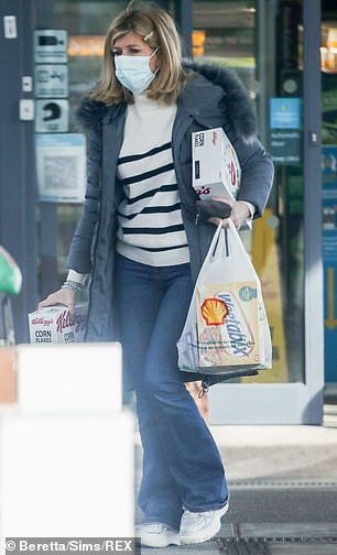 Getting options: She picked up a box of Weetabix as well as lots of Cornflakes