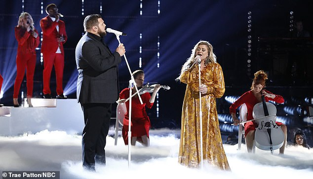 Keeping busy: The Since U Been Gone singer's last tour was in 2019;  we see her playing in an episode of The Voice the same year