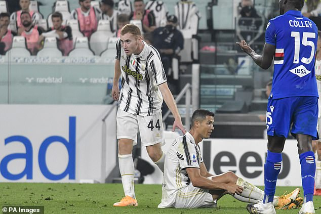 Kulusevski (left) has five goals and four assists for Juventus in all competitions this season
