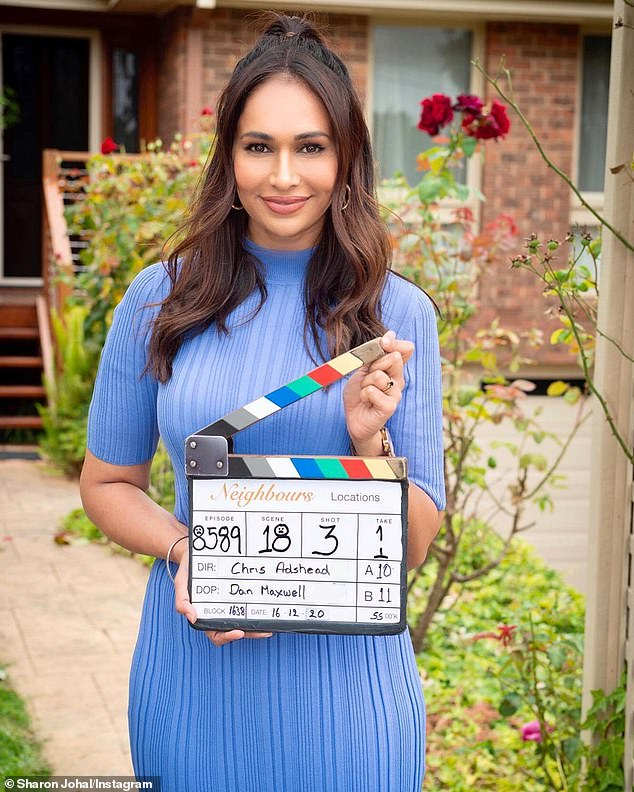Comment:On Saturday, Former Neighbours star Sharon Johal (pictured) added her voice to the outcry, sharing an Instagram Stories post revealing her mental health has been affected by the backlash