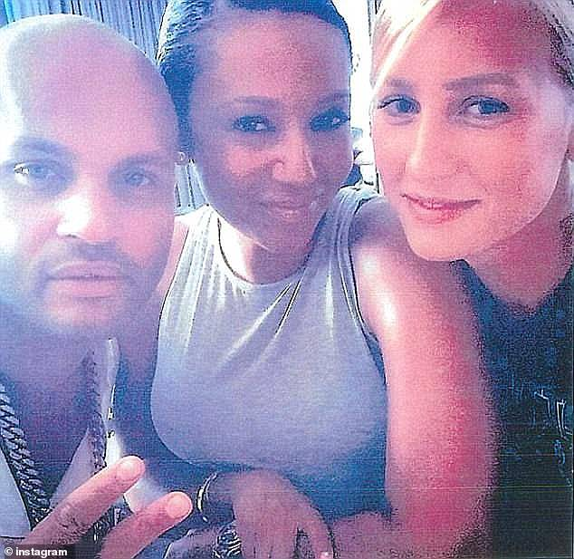 Headlines: Lorraine, 30, hit headlines amid Mel B's 2017 divorce from Stephen Belafonte, as it was claimed that the German beauty had trysts with the former couple (pictured)