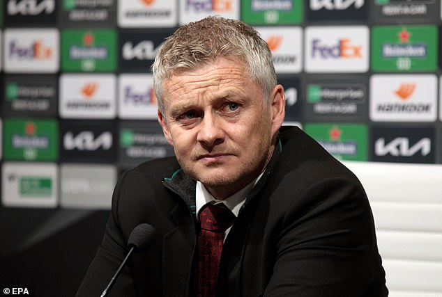 Ole Gunnar Solskjaer insists Manchester United are not happy with second place this season