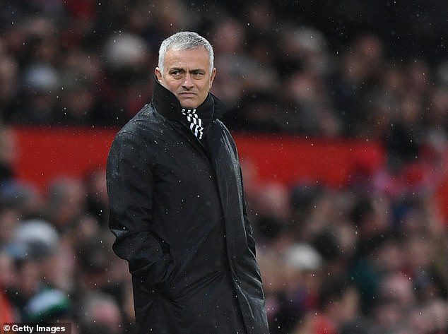 Jose Mourinho once claimed a runners-up spot with United in 2018 was a great achievement