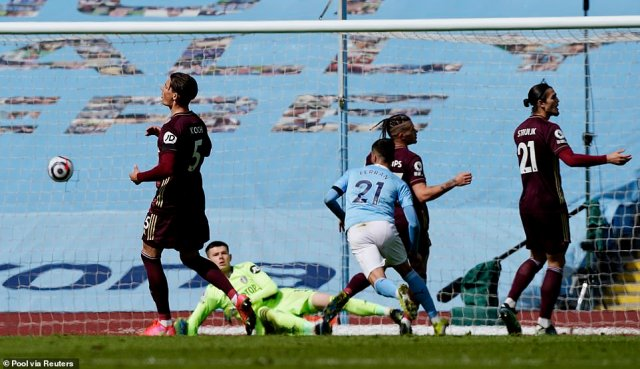 Spanish youngster Ferran Torres finally netted the equaliser, giving Pep Guardiola's side 15 minutes to find the winner