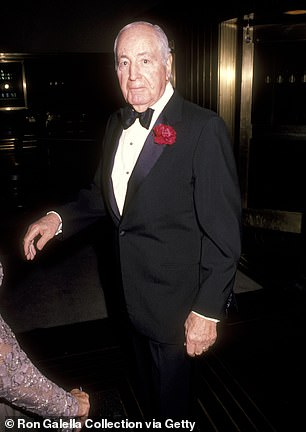 Walter Annenberg and 1990
