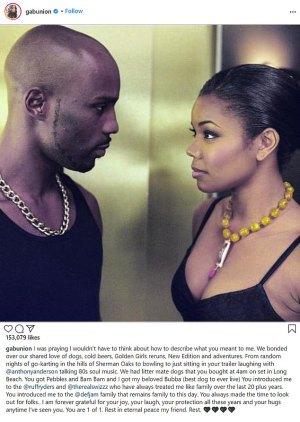 Gabrielle Union remembers the late DMX as a Golden Girls fan