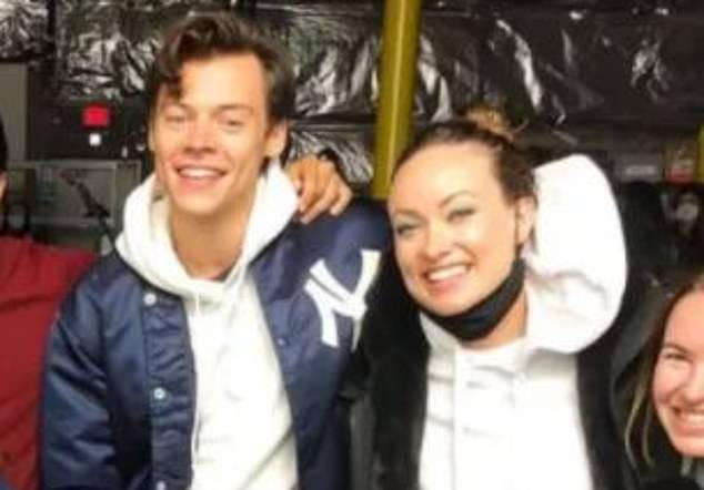 Rumors are circulating in celebrity land that Olivia's romance with former One Direction star Harry Styles (both pictured) may have a short shelf life thanks to their ten-year age gap.
