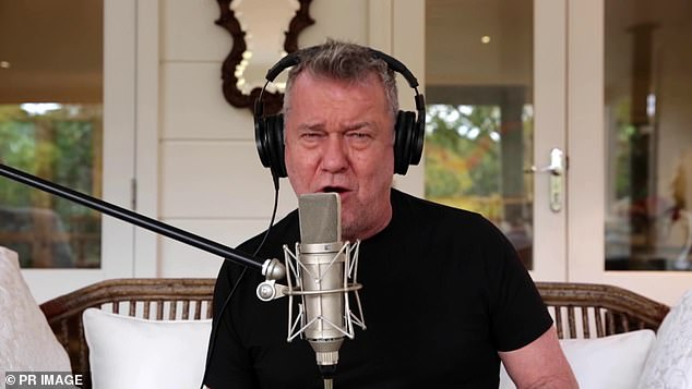 Icons: Streaming performances will be provided by The Kid LAROI, Jimmy Barnes [pictured], Tina Arena, Dean Lewis, You Am I, Sam Fischer and Hayley Mary
