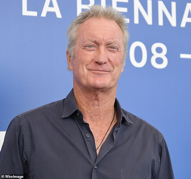 Success!  Actors such as Bryan Brown, 73 (pictured) and Simon Baker, 51, celebrate victory after federal government decides to keep tax cut on the big screen, according to The Sunday Telegraph