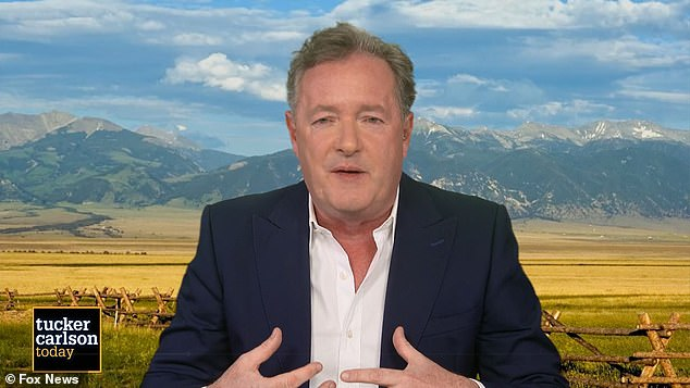 Earlier this week, Piers Morgan praised Osbourne for standing up for her right to an opinion even at the expense of her job, accusing CBS of 'hypocrisy' for forcing her out on The Talk.