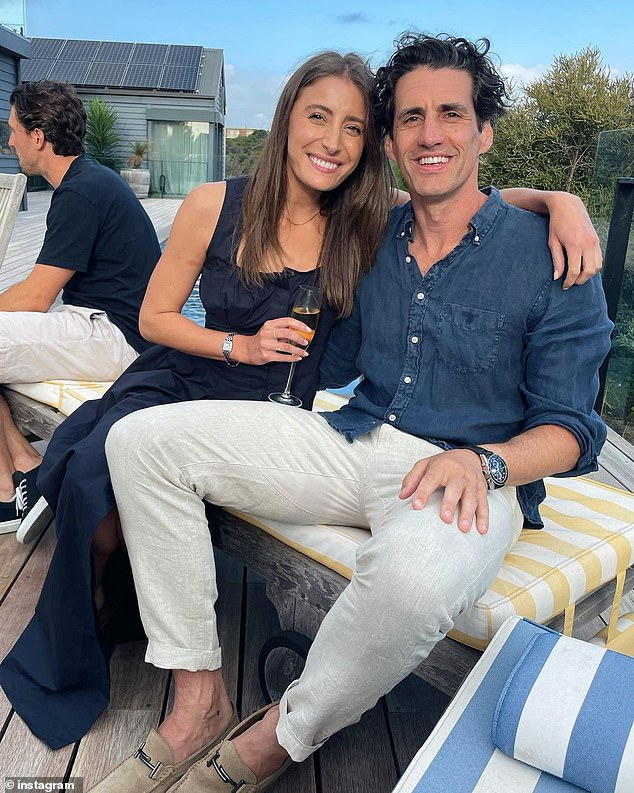 Beginnings:The couple have been together since 2014, despite a brief split in 2016, but didn't go public with their romance until January 2015. They met at a Melbourne cafe where she was working as a waitress. He left his email address for her on a napkin