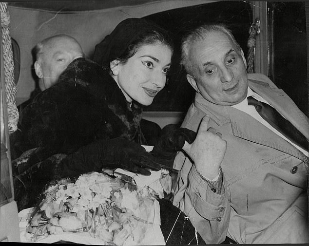 In another letter, Callas referred to her husband Giovanni Battista Meneghini as a 'louse'