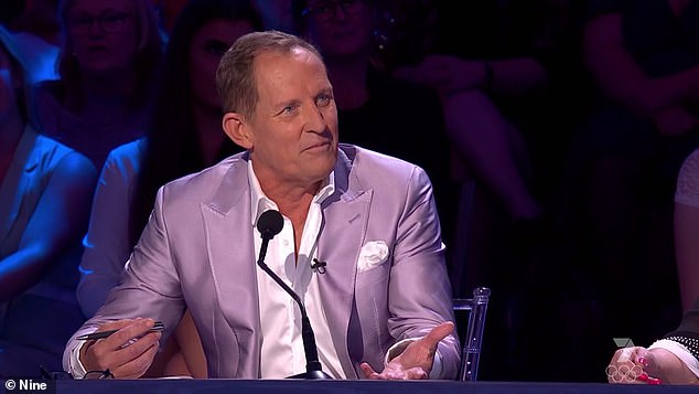 Honest: Todd McKenney admitted to Schapelle he thought she was 'going to be shit', and she confessed that she 'felt the same'.  However, after his performance, the sour-tongue judge was forced to eat his words.